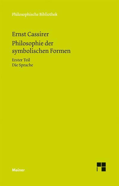 Philosophie der symbolischen Formen 1