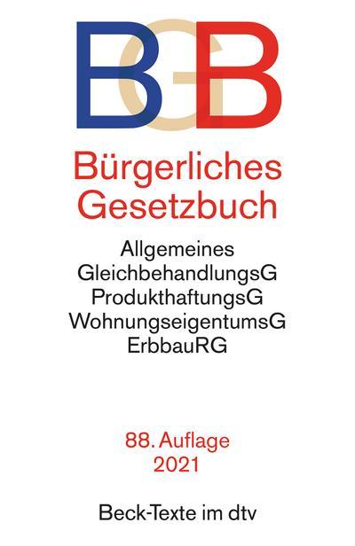 Bürgerliches Gesetzbuch - BGB