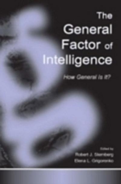 General Factor of Intelligence