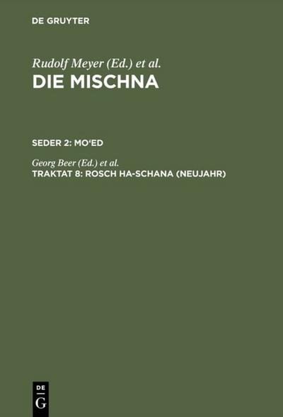 Rosch ha-schana (Neujahr)