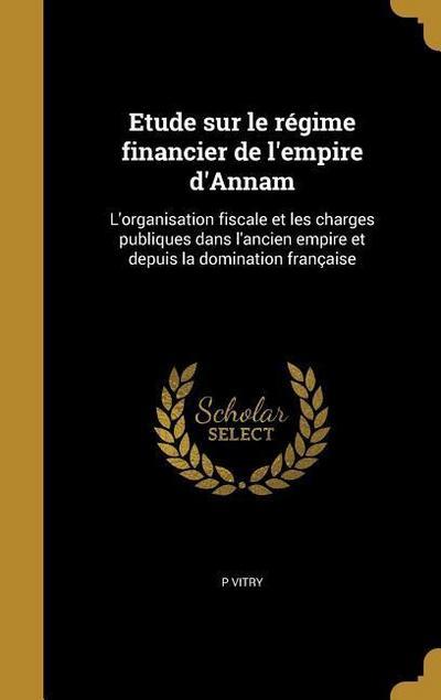 FRE-ETUDE SUR LE REGIME FINANC