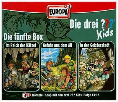 Die drei ??? Kids 3er Box. Folgen 13-15 (drei Fragezeichen) 3 CDs