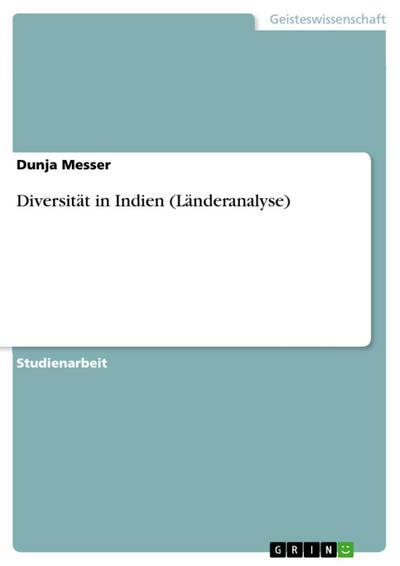 Diversität in Indien (Länderanalyse)