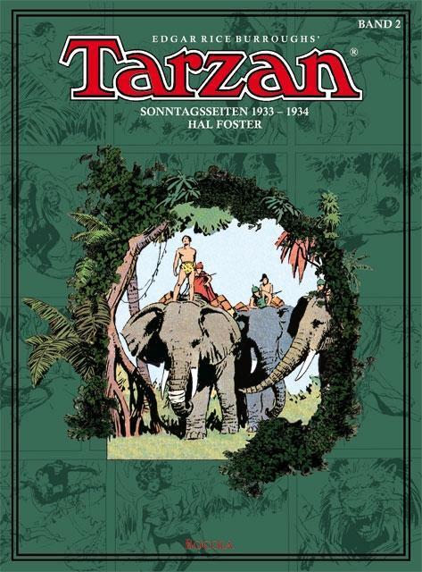 Tarzan Sonntagsseiten 02. 1933 - 1934 Edgar Rice Burroughs