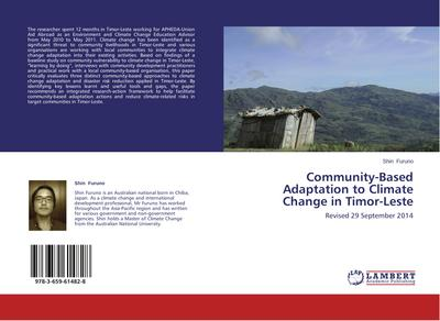 Community-Based Adaptation to Climate Change in Timor-Leste