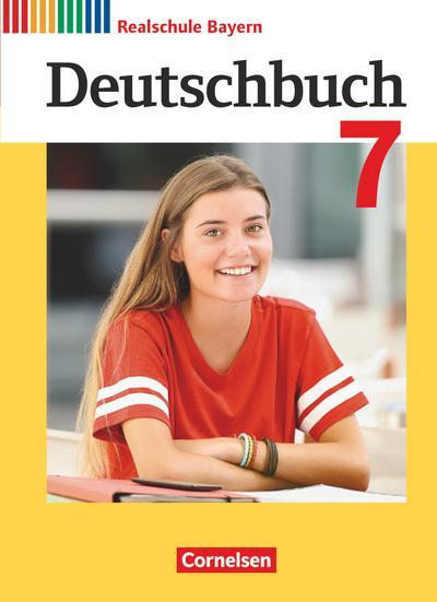 Deutschbuch  7. Jahrgangsstufe - Realschule Bayern  - Schülerbuch