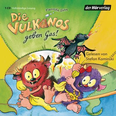 Die Vulkanos geben Gas!, 1 Audio-CD