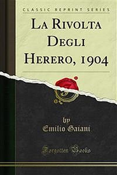 La Rivolta Degli Herero, 1904