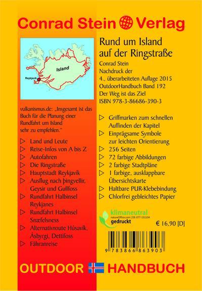 Rund um Island auf der Ringstraße (OutdoorHandbuch)