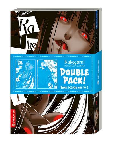 Kakegurui - Das Leben ist ein Spiel. Double Pack Band 1 & 2