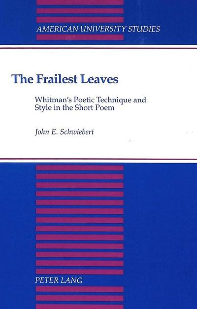 The Frailest Leaves