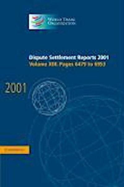 Dispute Settlement Reports 2001: Volume 13, Pages 6479-6953