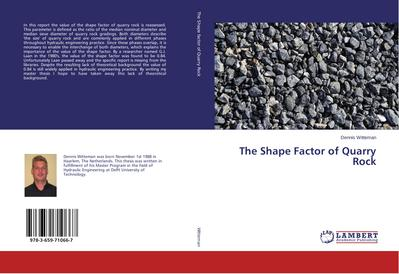 The Shape Factor of Quarry Rock
