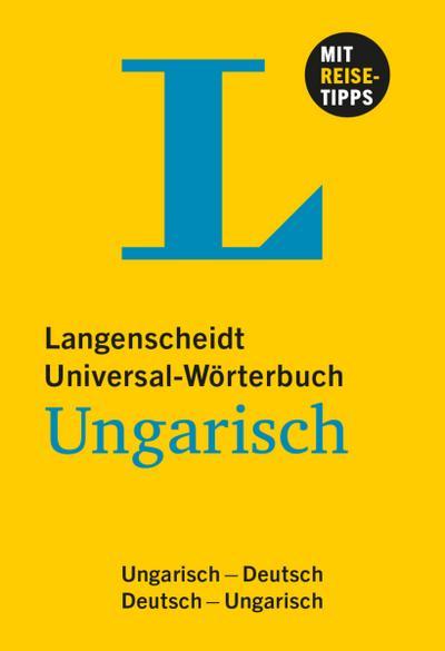 Langenscheidt Universal-Wörterbuch Ungarisch - mit Tipps für die Reise