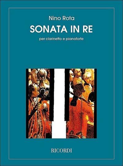 Sonata re maggiore perclarinetto e pianoforte