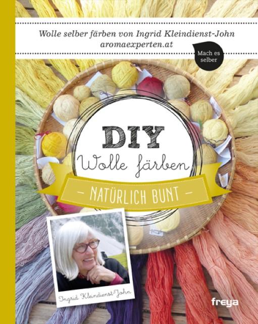 DIY Wolle färben Ingrid Kleindienst-John