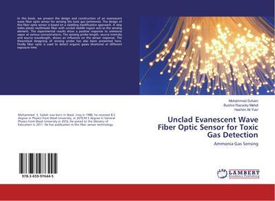 Unclad Evanescent Wave Fiber Optic Sensor for Toxic Gas Detection