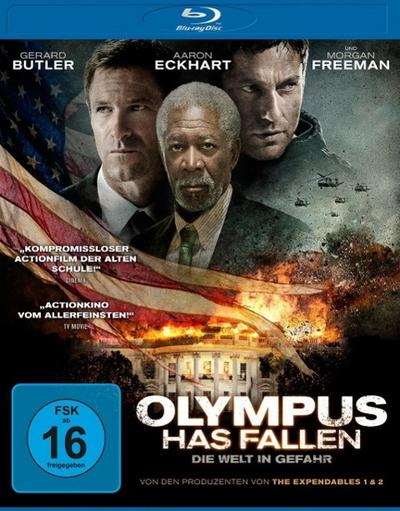 Olympus Has Fallen - Die Welt in Gefahr, 1 Blu-ray