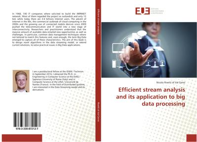 Efficient stream analysis and its application to big data processing