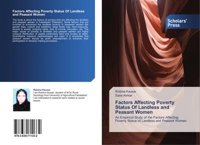 Factors Affecting Poverty Status Of Landless and Peasant Women