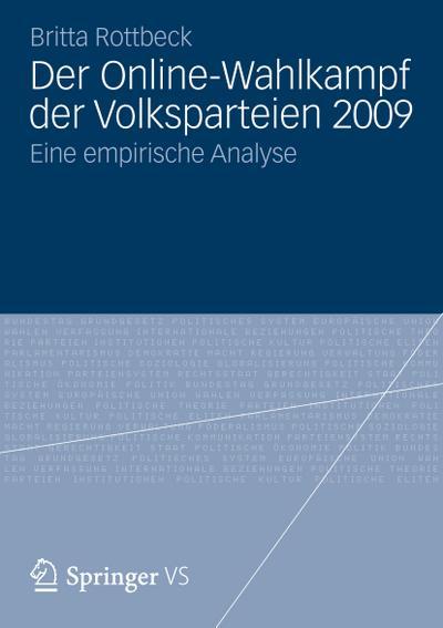 Der Online-Wahlkampf der Volksparteien 2009