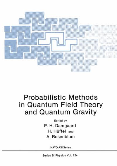 Probabilistic Methods in Quantum Field Theory and Quantum Gravity