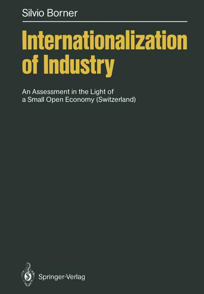 Internationalization of Industry