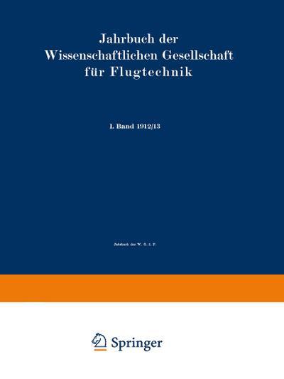 Jahrbuch der Wissenschaftlichen Gesellschaft für Flugtechnik