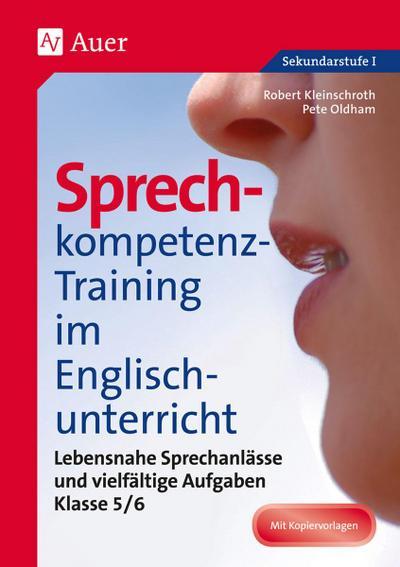 Sprechkompetenz-Training im Englischunterricht 5-6