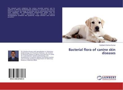 Bacterial flora of canine skin diseases