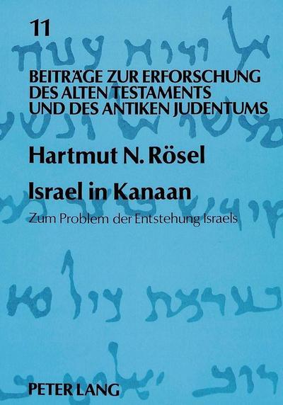 Israel in Kanaan