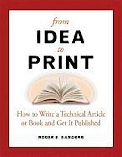 From Idea to Print