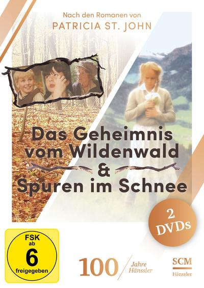 Spuren im Schnee / Das Geheimnis vom Wildenwald, 2 DVDs