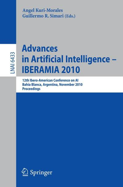 Advances in Artificial Intelligence - IBERAMIA 2010