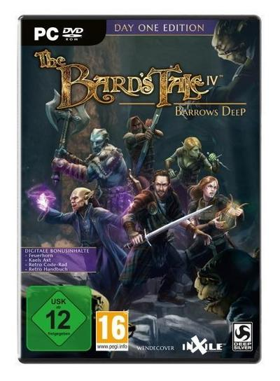 The Bard's Tale IV: Barrows Deep Day One Edition. Für Windows 7/8/10 (64-Bit)
