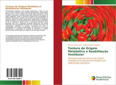 Tontura de Origem Metabólica e Reabilitação Vestibular