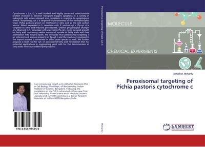 Peroxisomal targeting of Pichia pastoris cytochrome c