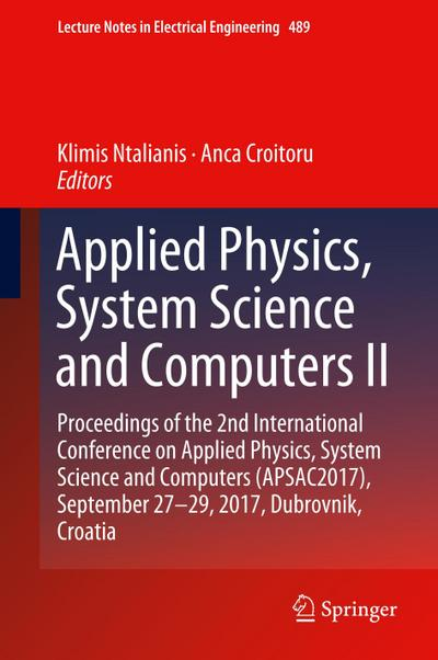 Applied Physics, System Science and Computers II