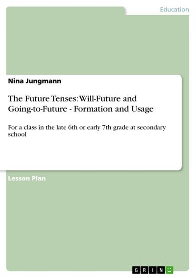 The Future Tenses: Will-Future and Going-to-Future - Formation and Usage