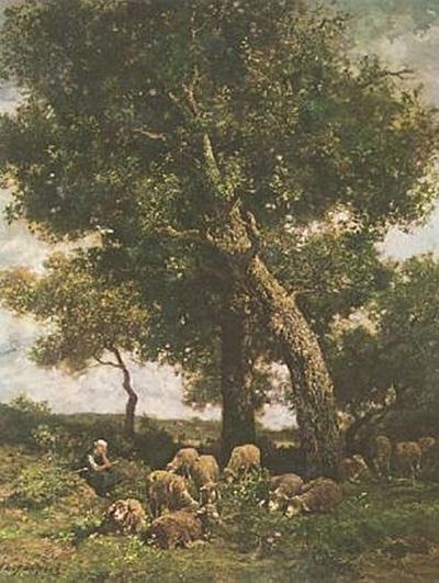 Charles-Émile Jacque - Auf der Weide - 200 Teile (Puzzle)