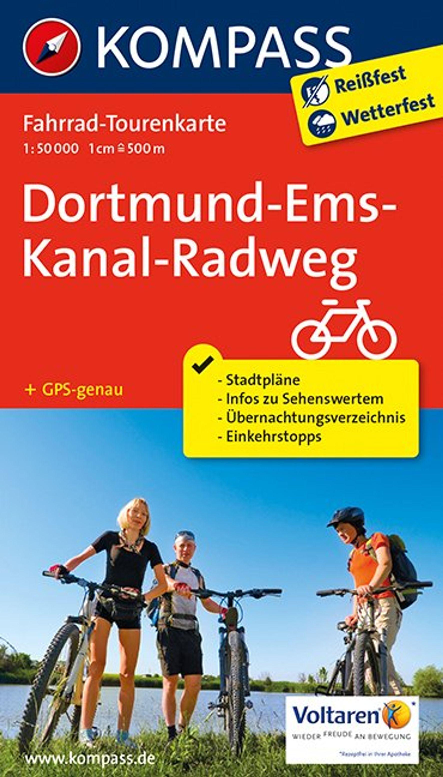 Dortmund-Ems-Kanal-Radweg 1 : 50 000