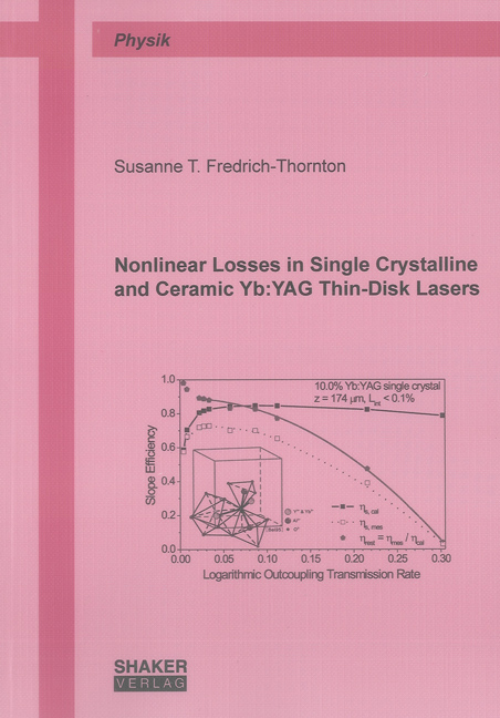 Nonlinear Losses in Single Crystalline and Ceramic Yb:YAG Thin-Disk Lasers  ...