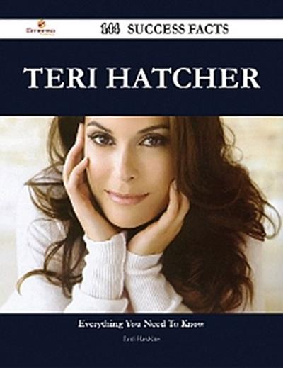 Teri Hatcher 144 Success Facts - Everything you need to know about Teri Hatcher