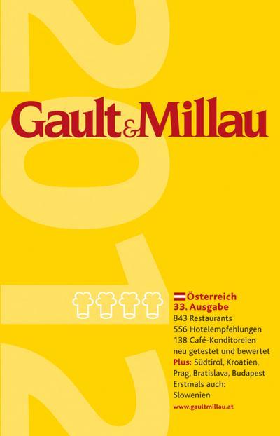 Gault Millau Österreich 2012: 3 Bde. Restaurants, Hotelempfehlungen und Café- Konditoreien