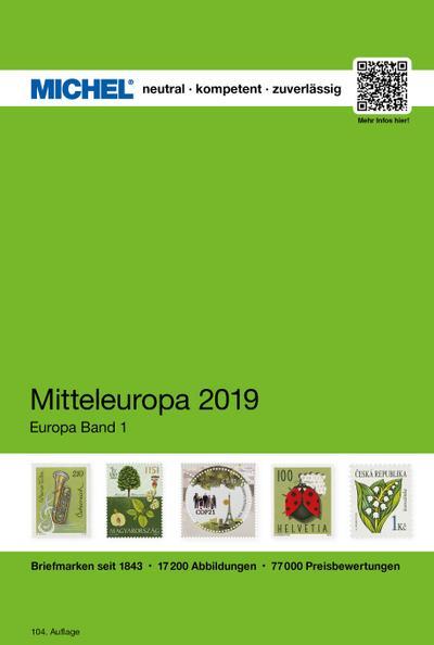 Mitteleuropa 2019 - EK 1 (MICHEL-Europa / EK)