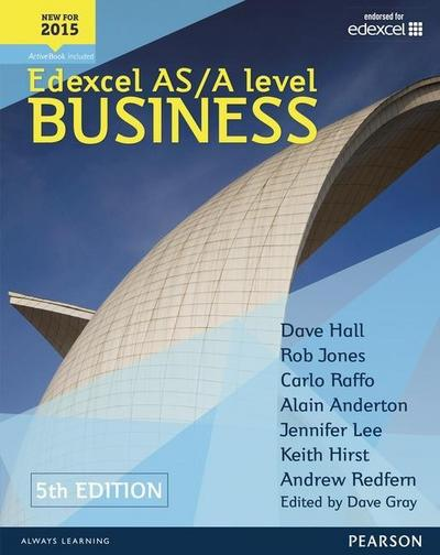 Edexcel AS/A level Business 5th edition Student Book and ActiveBook (Edexcel a Level Business 2015)