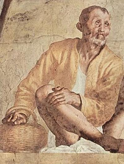 Jacopo Pontormo - linker Teil der Lünette, Vertumnus und Pomona - 500 Teile (Puzzle)