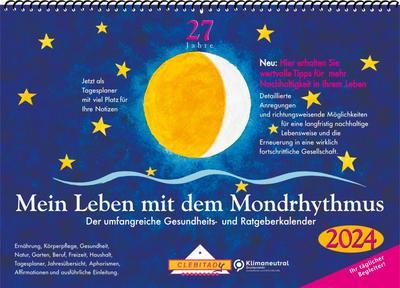 Mein Leben mit dem Mondrhythmus 2022 Wandkalender