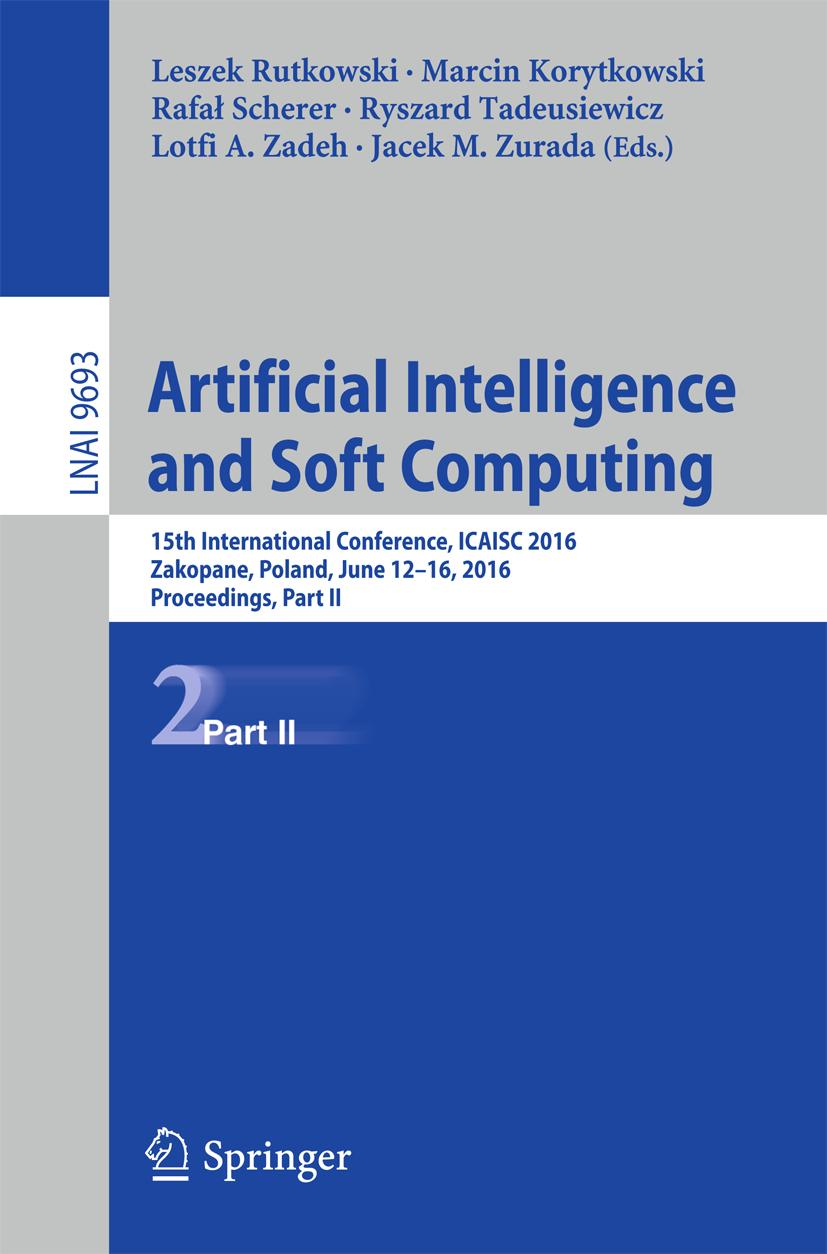 Artificial Intelligence and Soft Computing, Leszek Rutkowski