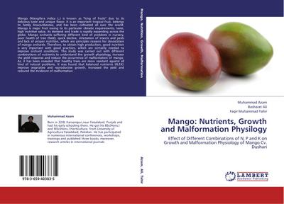 Mango: Nutrients, Growth and Malformation Physilogy
